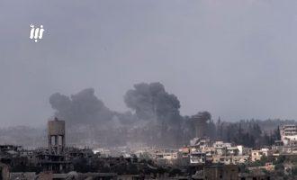 Οι Ρώσοι έσωσαν τον συριακό στρατό στη Νταράα με σφοδρούς βομβαρδισμούς (βίντεο)