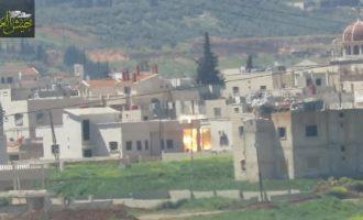 Οι μισθοφόροι της Τουρκίας βομβαρδίζουν την Ελληνορθόδοξη πόλη Μαρντέ στη Συρία