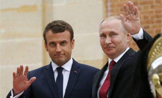 Πούτιν και Μακρόν συνομίλησαν μετά το φόνο Σολεϊμανί στη Βαγδάτη