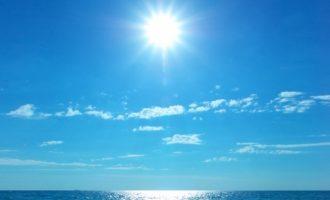 Αίθριος ο καιρός την Τετάρτη με υψηλές για την εποχή θερμοκρασίες