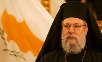 Αρχιεπίσκοπος Κύπρου: Εάν ο Αναστασιάδης συρθεί βιαίως στη Γενεύη θα τον περιμένει αποτυχία