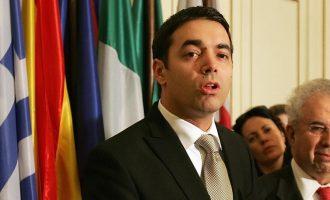 """Ο Σκοπιανός ΥΠΕΞ Ντιμιτρόφ """"μάγκεψε"""" μέσω Spiegel, απείλησε την Ελλάδα και δήλωσε """"Μακεδόνας"""""""