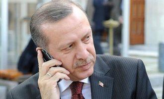 Ο Ερντογάν τηλεφώνησε στον ηγέτη της τρομοκρατικής οργάνωσης Χαμάς για να εκφράσει τα συλλυπητήριά του