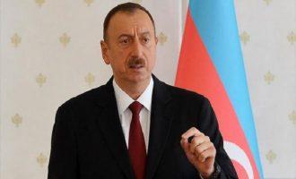 Για τέταρτη φορά επανεξελέγη πρόεδρος του Αζερμπαϊτζάν ο Αλίγεφ
