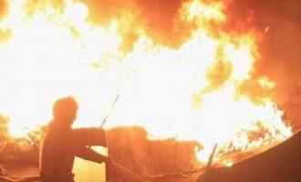 Μεγάλη φωτιά στην Κέρκυρα – Απειλήθηκαν ξενοδοχεία
