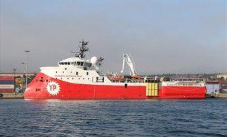 Με κλειστά συστήματα εντοπισμού έφτασε στην Κύπρο το ερευνητικό «Μπαρμπαρός»