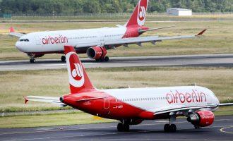 Καταρρέουν και οι γερμανικές εταιρείες – Χρεοκόπησε  η Air Berlin
