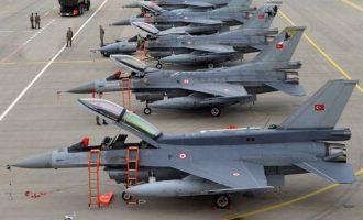 Θέμα χρόνου να πάψουν να πετάνε τα τουρκικά F-16 – Τους «κόβουν» τα ανταλλακτικά