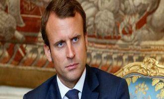 Μακρόν: Αν αποδειχθεί η χρήση χημικών όπλων στη Συρία θα απαντήσουμε με βόμβες