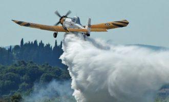Δύο πυροσβεστικά αεροπλάνα PZL έστειλε η Ελλάδα στα πύρινα μέτωπα στην Αλβανία