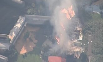 Εκτροχιάστηκε τρένο με εύφλεκτα υλικά στην Πενσυλβάνια – Δεν υπήρξαν τραυματισμοί