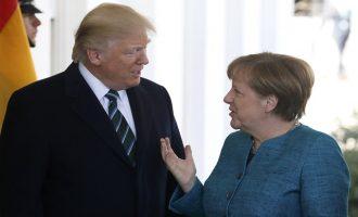 Τραμπ και Μέρκελ ενώνουν τις δυνάμεις τους κατά της Κίνας