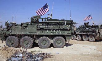 Πρωτοφανές θράσος: Ο Ερντογάν ζήτησε από τον Τραμπ να αποσύρει τα αμερικανικά στρατεύματα από τη Μανμπίτζ