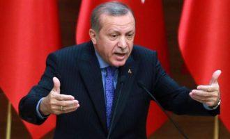Ο Ερντογάν απείλησε τον Μακρόν ότι η Τουρκία θα συντρίψει και τον γαλλικό στρατό