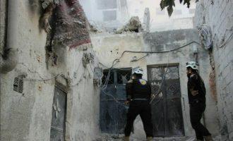 Οι Ρώσοι βομβαρδίζουν την Αλ Κάιντα σε πόλεις και κωμοπόλεις της Ιντλίμπ στη Συρία