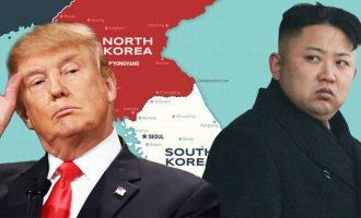 «Καθόλου προβληματισμένος» ο Τραμπ από τις εκτοξεύσεις πυραύλων του Κιμ