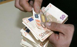 Στα 722,26 ευρώ η μέση σύνταξη