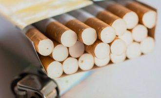 Μία ουγγιά χρυσό για ένα πακέτο τσιγάρα στη Γαλλία