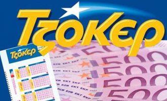 Τζόκερ: Ένας υπερτυχερός κέρδισε 1.174.752,10 ευρώ