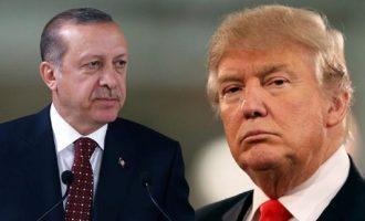 O Τραμπ μίλησε στο τηλέφωνο με Ερντογάν για την Συρία