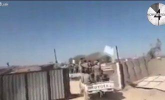 Τουρκμένοι μισθοφόροι της Τουρκίας εισβάλουν στην Ιντλίμπ της Συρίας (βίντεο)