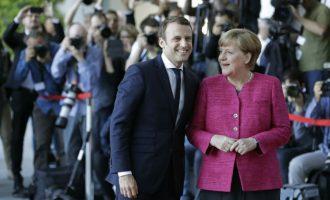 Μέρκελ και Μακρόν στηρίζουν την Ισπανία στην κρίση με την Καταλονία