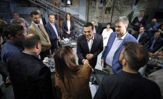 Τσίπρας σε επιχειρηματίες: Νέο παραγωγικό μοντέλο με επενδύσεις σε έρευνα και τεχνολογία