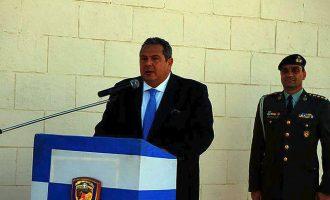 Καμμένος από Ελ Αλαμέιν: Ο Ελληνισμός είναι πάντα έτοιμος να προασπιστεί τα δίκαιά του