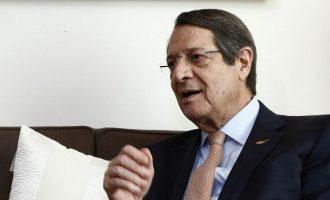 Τις τουρκικές προκλήσεις στην ΑΟΖ θα θέσει στο Άτυπο Ευρωπαϊκό Συμβούλιο ο Αναστασιάδης