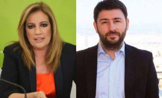 Υπόθεση ΠΑΣΟΚ οι εκλογές στην Κεντροαριστερά: Στο δεύτερο γύρο Γεννηματά και Ανδρουλάκης