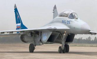Ο Ερντογάν θέλει να αγοράσει ρωσικά MIG-35 – Χρυσές δουλειές κάνει η Ρωσία μετά τον πόλεμο στη Συρία