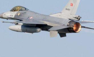 Νέα πρόκληση: Τουρκική υπέρπτηση F-16 στα Δωδεκάνησα