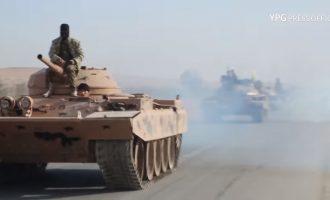 Τρία αμερικανικά φυλάκια έτοιμα στα σύνορα συριακού Κουρδιστάν-Τουρκίας – Οι Κούρδοι συγκεντρώνουν στρατεύματα