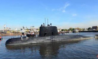 Η Αργεντινή δίνει 5 εκατ. δολάρια σε όποιον βρει το χαμένο υποβρύχιο