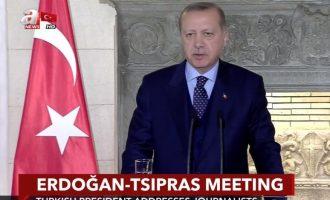 Βερολίνο και Ουάσιγκτον απαντούν στο Ερντογάν: «Ξέχνα τις αλλαγές συνθηκών»