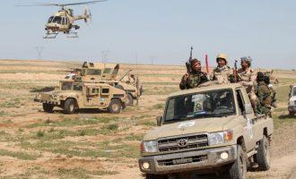 Οι Ιρακινοί εντόπισαν τρία τούνελ του Ισλαμικού Κράτους στην έρημο – Τα κατέστρεψαν σκοτώνοντας και τους τζιχαντιστές