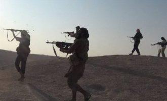 Το Ισλαμικό Κράτος απέκοψε τον αυτοκινητόδρομο που συνδέει τη Δαμασκό με τη Βαγδάτη