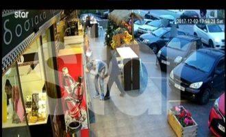 Έπιασαν τον σερβοκροάτη που είχε πλημμυρίσει την Αθήνα με κόκα – Δείτε τη σύλληψη καρέ καρέ (βίντεο)