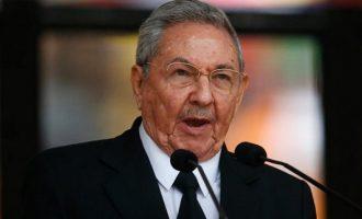 Οι ΗΠΑ επέβαλαν κυρώσεις στον πρώην πρόεδρο της Κούβας Ραούλ Κάστρο