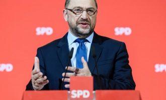 Σουλτς: Θα υπάρξει ένας Ευρωπαίος υπουργός Οικονομικών