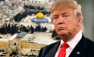 Διάγγελμα Τραμπ: Οι ΗΠΑ αναγνώρισαν την Ιερουσαλήμ ως πρωτεύουσα του Ισραήλ