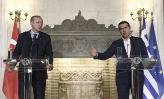 Τσίπρας σε Ερντογάν: «Από ό,τι κατάλαβα δεν ζήτησες αναθεώρηση της Συνθήκης της Λωζάνης»