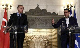 Πώς ο Τσίπρας ξεκίνησε με δηλώσεις και κατέληξε με σφαλιάρες στον Ερντογάν