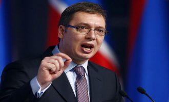 Βούτσιτς: Η Σερβία δεν ανταλλάσσει το Κοσσυφοπέδιο με ενδεχόμενη ένταξη στην Ε.Ε.