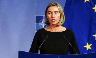 Φεντερίκα Μογκερίνι: Η Τουρκία απομακρύνεται από την Ευρωπαϊκή Ένωση