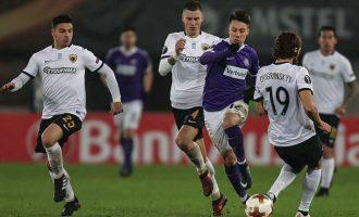 Στους «32» του Europa League  η ΑΕΚ μετά το 0-0 με την Αούστρια