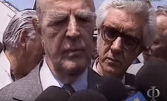 Όταν ο Κωνσταντίνος Καραμανλής δάκρυσε: «Η Μακεδονία είναι ελληνική» (βίντεο)