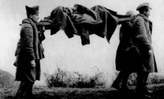 Αρχίζει η εκταφή των Ελλήνων στρατιωτών πεσόντων στα βουνά της Αλβανίας