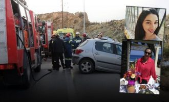 Τελευταία πράξη του δράματος για μάνα και κόρη του τροχαίου στην Κρήτη – Κηρύχθηκε πένθος στην Τήλο