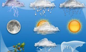 Καιρός: Βροχές και ζέστη τη Δευτέρα